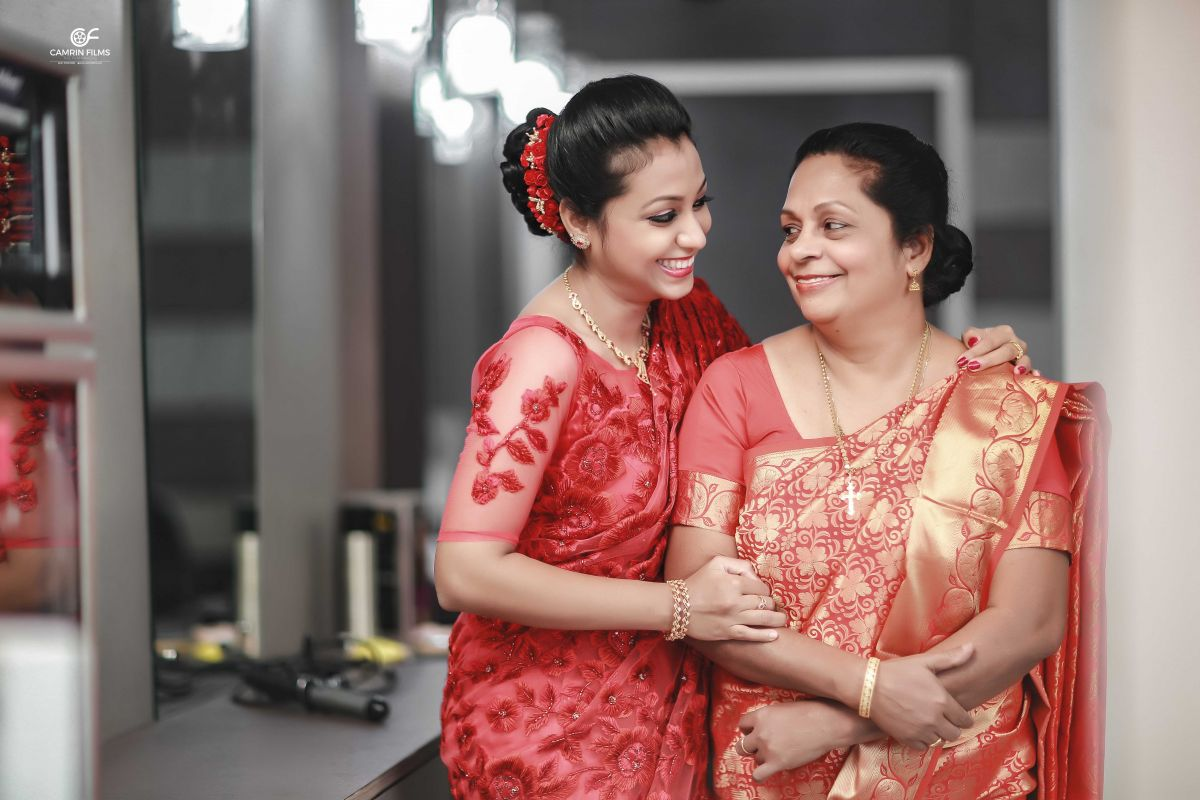 Bride With Mom