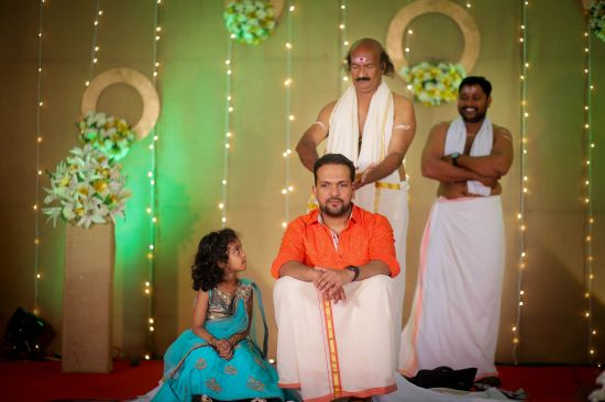Chanthamcharthal Ceremony photography in Kerala