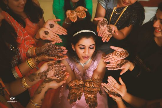 Mehendi Wedding photography in Kerala