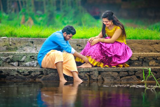 Post Wedding photography in Kerala
